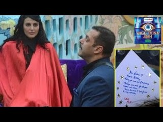 Salman Khan Celebrated His B'Day With Big Boss 9 Contestants !