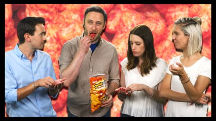 Cheetos/Doritos Explode In Our Mouths!! - Food Feeder