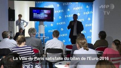 Euro-2016: Paris satisfaite du bilan touristique
