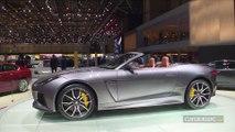 Jaguar F-Type SVR - en direct du salon de Genève