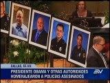Histórico discurso de Barack Obama en memorial de policías asesinados