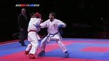Matias Garcia Gomez V Kaya Aykut Male Kumite -60 Kg EKF Championships 2016