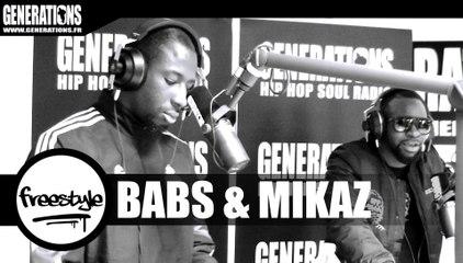 Babs & Mikaz - Freestyle (Live des studios de Generations)