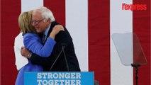 États-Unis: Bernie Sanders et Hillary Clinton unis face à Donald Trump