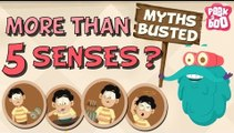 How Many Senses Do We Have? - Myths Busted | The Dr. Binocs Show | Busting The Myth of 5 Senses
