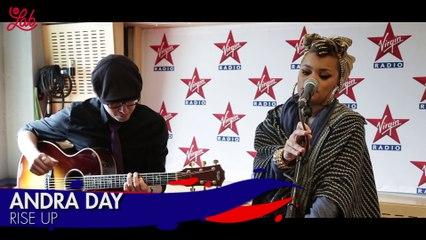"Andra Day en live dans Le Lab Virgin Radio ""RISE UP"""