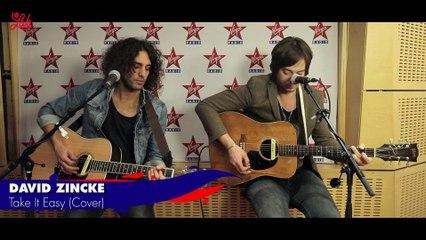 """David Zincke en live dans Le Lab Virgin Radio, cover de """"Take It Easy"""""""