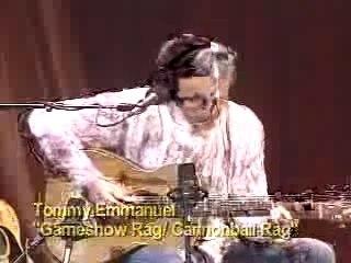 Tommy Emmanuel - Gameshow rag Cannonball rag