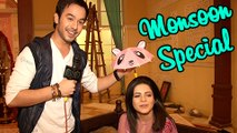 Bihaan Thapki SPECIAL MONSOON MOMENT | Exclusive Interview | On Location