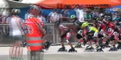 Championnat de France piste fond série 1 Poussins