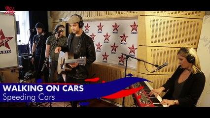 "Walking On Cars en live dans Le Lab Virgin Radio ""Speeding Cars"""