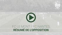 FC Le Mont - FC Nantes : le résumé vidéo