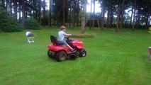 Quentin pilote de Formule Tracteur Solo