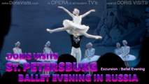 Doris Visits the Ballet Evening in St Petersburg, Russia