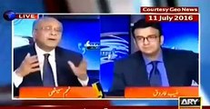 Sami Ibraheem exposed Nawaz Sharif policy about Kashmir by playing Najam Sethi's clips