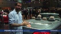 Mercedes Classe C cabriolet - En direct du salon de Genève 2016