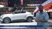 Toyota C-HR - Vidéo en direct du salon de Genève 2016