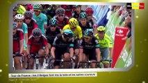 Tour de France: Les 2 Belges font rire la toile et les autres coureurs