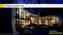 ArchiCAD 15 - Complex roofs - Unique complex roof