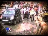 Mumbai: Nitesh Rane organises exhibition to highlight pothole problem - Tv9 Gujarati
