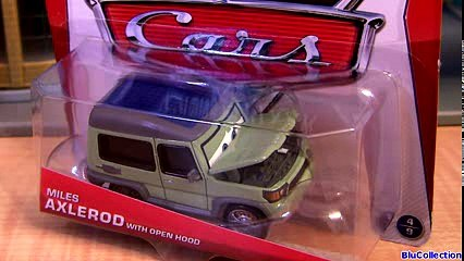 Cars 2 Miles Axlerod with Open Hood Chase Diecast 2013 From Palace Chaos Disney Pixar cartoys review