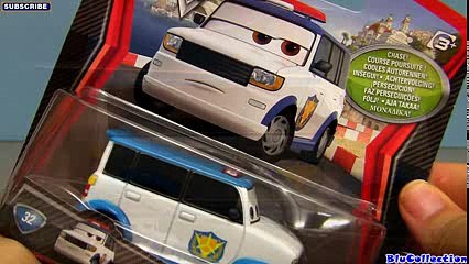Cars 2 Officer Murakarmi #32 Chase Edition Diecast Japan Airport Security Disney Pixar toy review