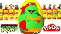 Ninja Kaplumbağalar Sürpriz Yumurta Oyun Hamuru - Kaptan Amerika Ninja Kaplumbağalar Oyuncakları