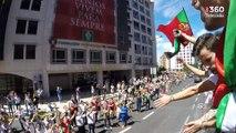 A festa dos campeões Europeus (Belém - Alameda)