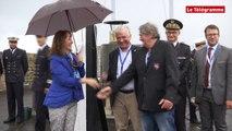 Brest 2016. Ségolène Royal inaugure les fêtes maritimes