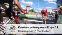 Onboard camera / Caméra embarquée - Étape 11 (Carcassonne / Montpellier) - Tour de France 2016