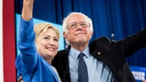 Here's the Clinton-Sanders joint speech in less than 3 minutes
