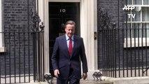 David Cameron présente sa démission à la reine mercredi