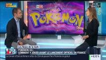 """Les News de la Tech: Comment jouer à """"Pokémon Go"""" avant le lancement officiel en France? - 13/07"""