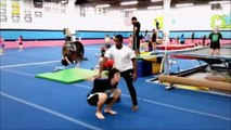 Back flip funny falling (funny falling video)(HD)