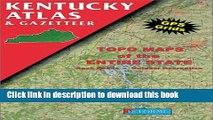 Read Kentucky Atlas and Gazetteer (Kentucky Atlas   Gazetteer) ebook textbooks