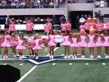 Dallas Cowboys Cheerleaders & Cheer Athletics - Halftime Show 10/25/09
