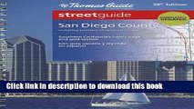 Read The Thomas Guide San Diego County Streetguide (Thomas Guide San Diego County, Ca Street