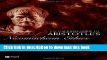 Read The Blackwell Guide to Aristotle s Nicomachean Ethics (Blackwell Guides to Great Works)