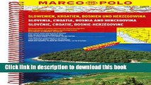 Download Slovenia/Croatia/Bosnia Marco Polo Road Atlas ebook textbooks