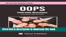 Read OOPS Interview Questions You ll Most Likely Be Asked E-Book Download