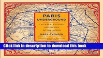 Download Paris Underground: The Maps, Stations, and Design of the Metro E-Book Free