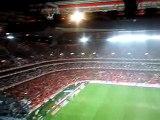 SLB 1 vs FCP 0 - 2009.12.20 - hino do SLB