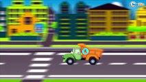 Emergency Vehicles Police Car & Tow Truck. Cars & Trucks Cartoons for children. Kids Cartoon