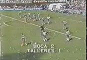 Gol de Gareca a Talleres (Boca 2-Talleres 1 10-10-82)