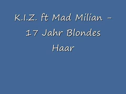 17 jahr blondes haar text