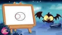 Comment dessiner une chauve-souris d'Halloween