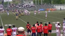 南山高校CRUSADERS:#29李卓(4/7)ワイルドキャットからTD
