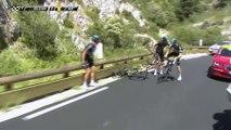 Chute / Crash - Gerrans & Stannard - Étape 12 / Stage 12 (Montpellier / Mont Ventoux) - Tour de France 2016
