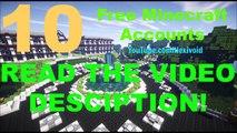[NEW] 10 Free Unused Premium Minecraft Accounts May 2016 [List 13]