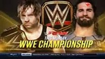 Dean Ambrose vs Kevin Owens - WWE Smackdown 14 July 2016 - 14_7_16 Full Match